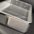 Stainless Steel Perforated Plate Basket